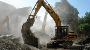 Demoliciones mediante maquinaria